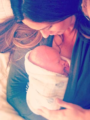 Survivor Kim Spradlin Welcomes Son Michael Thomas