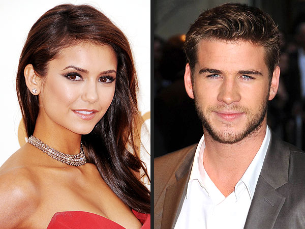 New Couple Alert? Liam Hemsworth & Nina Dobrev Get Cozy in Atlanta | Liam Hemsworth, Nina Dobrev