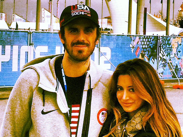 Noureen DeWulf's Olympics Blog: Braving My First All-American Russian Hot Dog| Celebrity Blog, Winter Olympics 2014, Noureen DeWulf