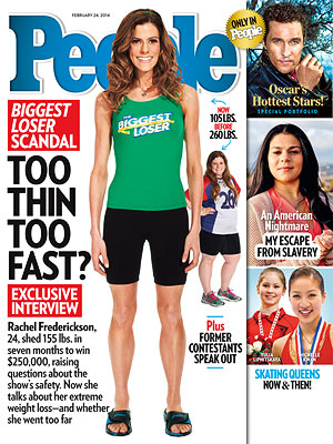 Biggest Loser's Rachel Frederickson: Finding Balance Will Be 'Tricky'| The Biggest Loser, Bodywatch, Rachel Frederickson