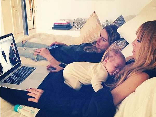 Rachel Zoe Instagram Son Kaius Fashion Week
