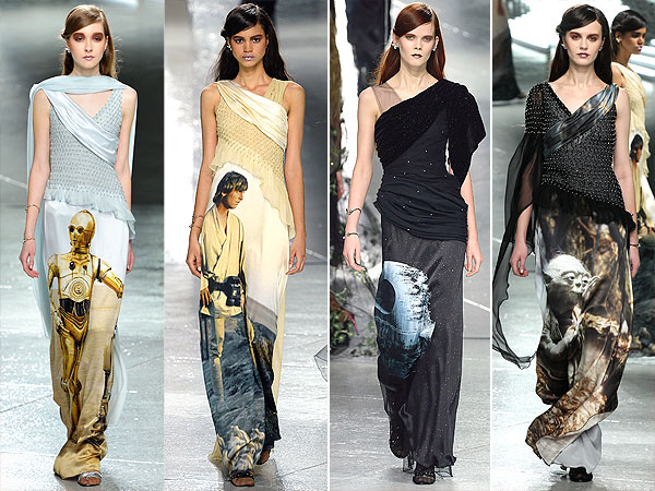 Rodarte Star Wars gowns