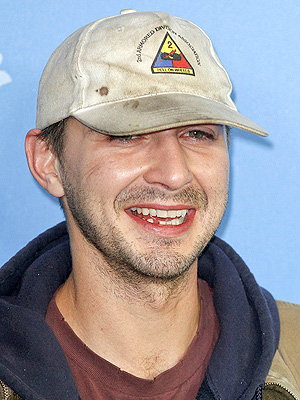 Shia LaBeouf Leaves Press Conference; Reappears at Premiere Wearing Paper Bag| Berlin International Film Festival, Christian Slater, Shia LaBeouf, Uma Thurman