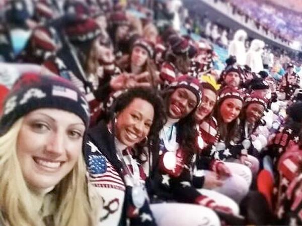 Winter Olympics 2014: Sochi Selfie