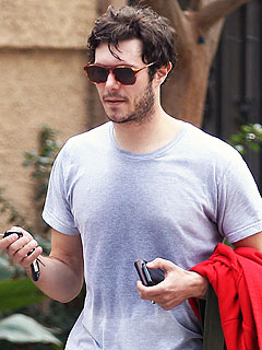 Is Adam Brody Wearing a Wedding Ring from Rumored Bride Leighton Meester? | Adam Brody