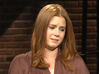 Amy Adams Breaks Down While Discussing Philip Seymour Hoffman | Amy Adams