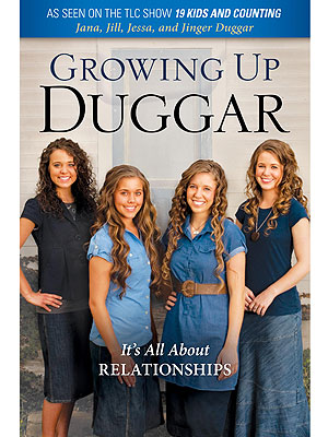 Duggar Sisters Jana, Jill, Jessa and Jinger Pen Relationship Book
