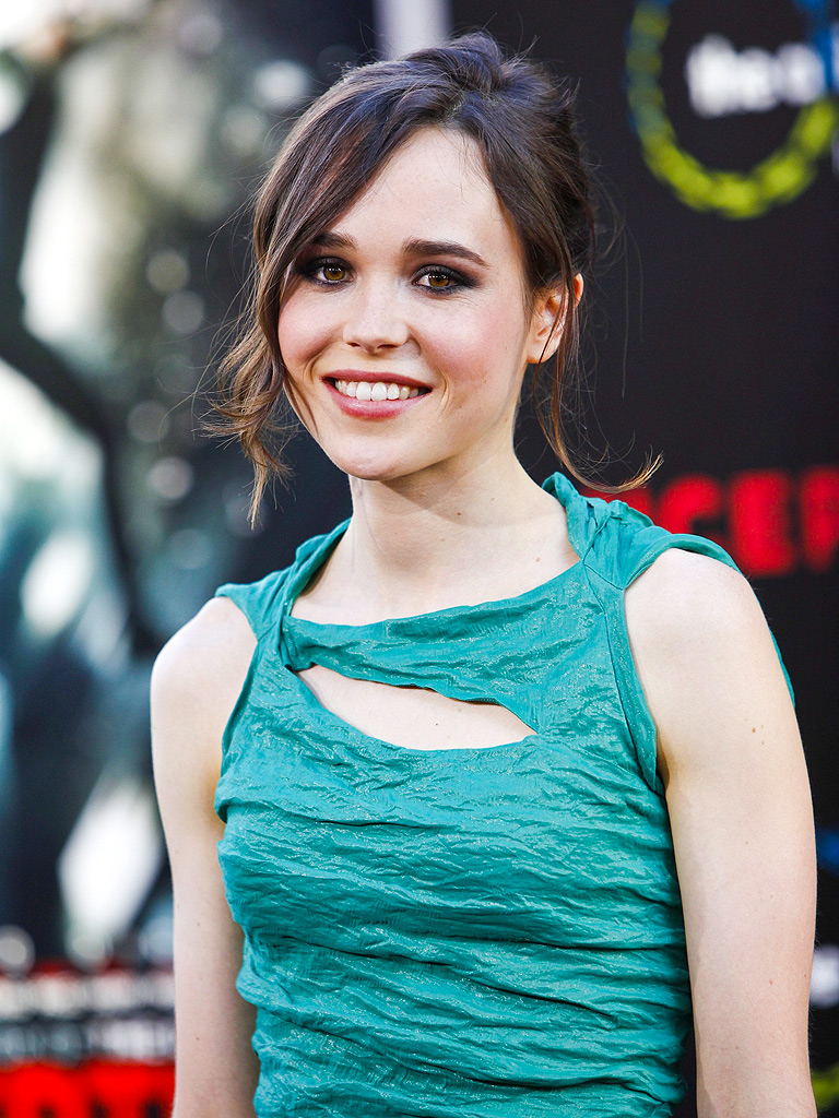 Ellen Page Comes Out as Gay: Celebrities Tweet Support ... Ellen Page