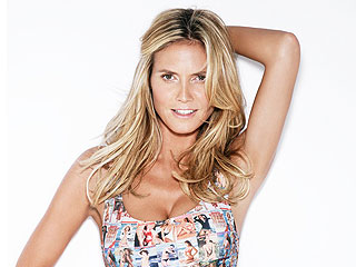 Heidi Klum's Sports Illustrated Bikini Features Her Own Face (and 50 Others!)