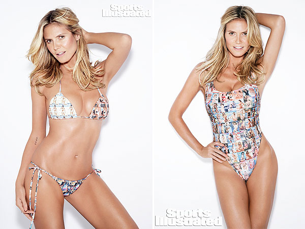 Heidi Klum Sports Illustrated 50th Anniversary