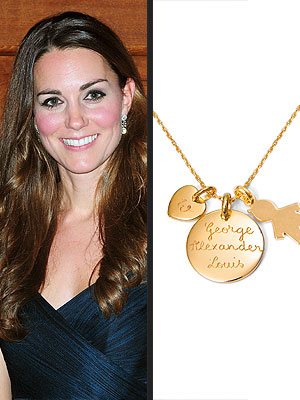 Kate middletons mommy necklace becomes a bestseller moms tk aloadofball Image collections
