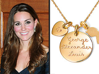 Kate Middleton's 'Mommy' Necklace Becomes a Bestseller | Kate Middleton