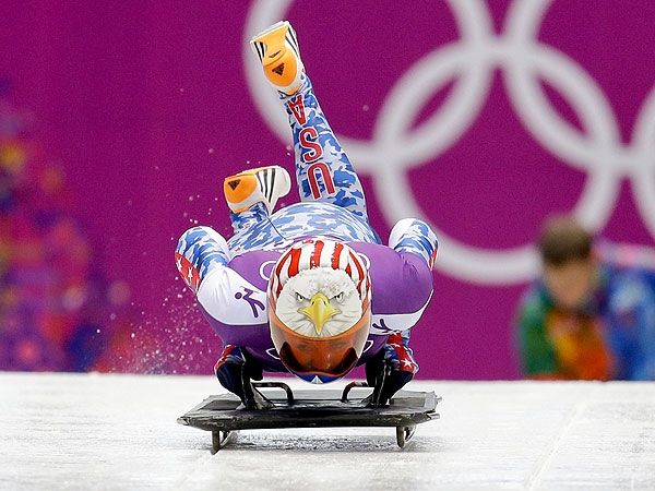 Katie Uhlaender Is Still Proud of Olympic Performance After Narrowly Missing Bronze  Winter Olympics 2014
