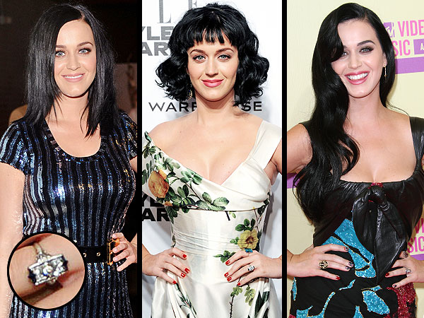Katy Perry's Buzzy Ring Bling: Is She Engaged or Not?| Couples, Engagements, MTV Video Music Awards, Valentine's Day, John Mayer, Katy Perry