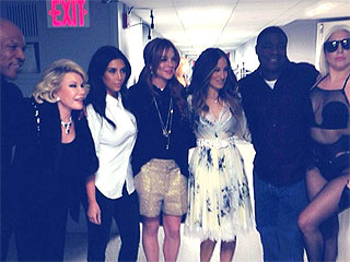 Kim Kardashian Posts Star-Studded Backstage Photos from The Tonight Show