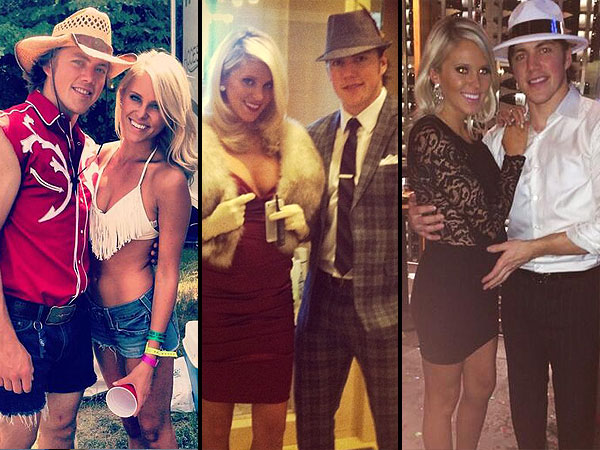 Meet Olympic Star T.J. Oshie's Fiancée, Lauren Cosgrove| Couples, Olympics, Winter Olympics 2014, Channing Tatum