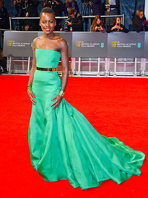 Lupita Nyong'o Green Dress