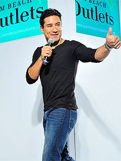 Mario Lopez Palm Beach Outlets