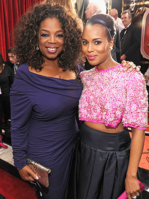 Oprah and Kerry Washington to Present at Black Women in Hollywood Luncheon | Kerry Washington, Oprah Winfrey