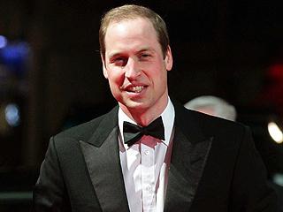 Prince William Plays Awards Show Presenter at the BAFTAs
