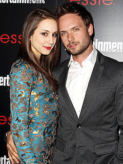 Troian Bellisario and Patrick J. Adams Are Engaged | Patrick J. Adams