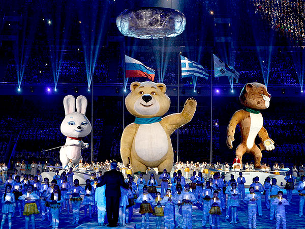 Olympics: Closing Cermony in Sochi, Promise to Return for Skiing