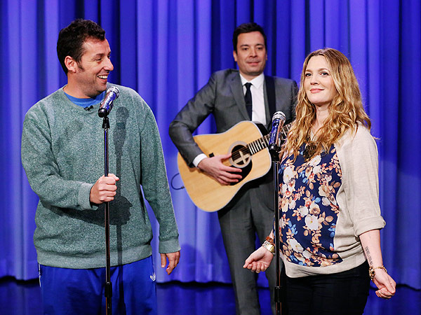 Watch Adam Sandler and Drew Barrymore Reunite for Sweet Duet