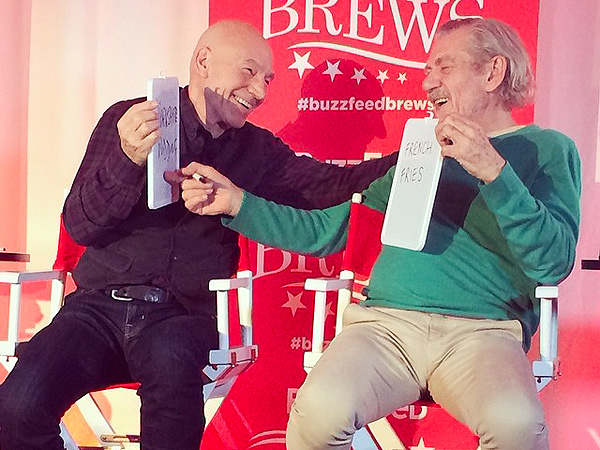 Five Reasons to Love BFFs Patrick Stewart & Ian McKellen