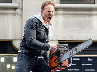 Sharknado 2 Takes a Bite Out of the Big Apple (PHOTOS) | Ian Ziering