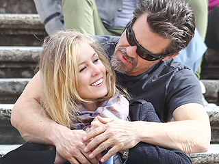 Josh Brolin Photographed Kissing a New Love Interest in Rome