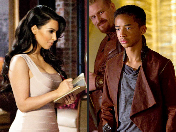 Kim Kardashian, Jaden Smith 'Win' Razzies