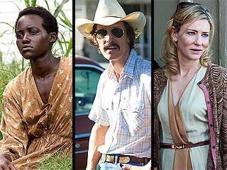 Who'll Win This Year's Oscars? Our Critic's Predictions | Cate Blanchett, Lupita Nyong'o, Matthew McConaughey