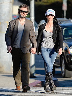 Michael Sheen & Sarah Silverman Step Out Holding Hands