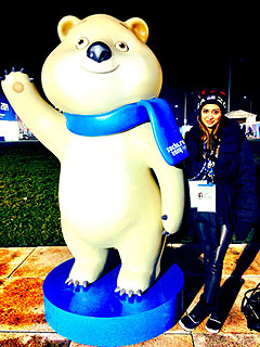 Noureen DeWulf Olympic Blog: After Sochi Tears and Cheers, Back to Work in Hollywood
