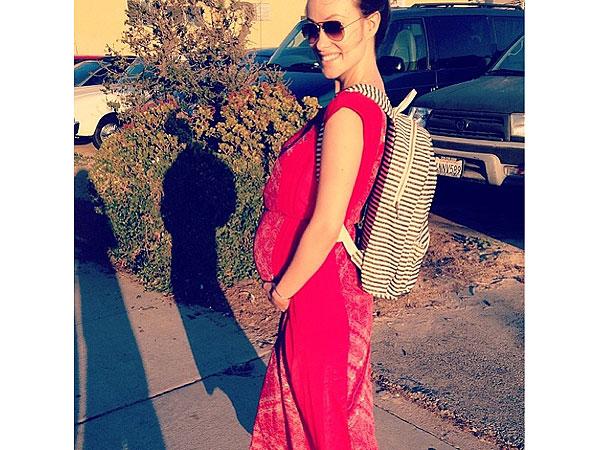 Olivia Wilde Baby Bump Instagram
