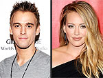 Aaron Carter Wants Hilary Duff Ba