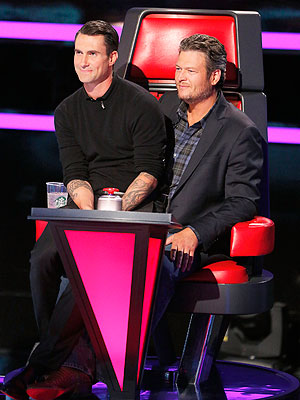 The Voice: Blake Shelton and Adam Levine Fight for the Best Singers | Adam Levine, Blake Shelton