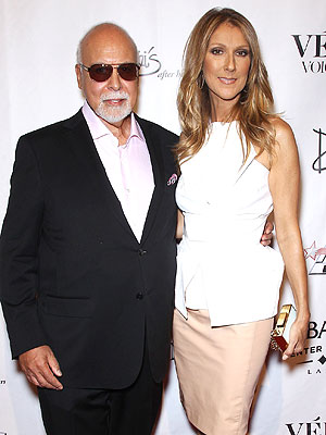 Céline Dion's Husband Underwent Surgery to Remove Tumor