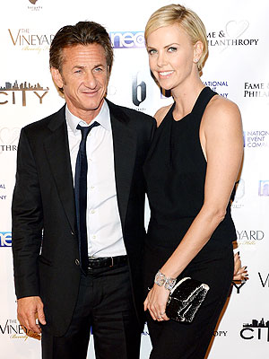 Charlize Theron, Sean Penn Not Engaged