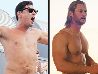 Chris Hemsworth vs. Leo DiCaprio for Best Shirtless Performance in MTV Movie Awards Race | Chris Hemsworth, Leonardo DiCaprio