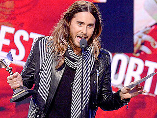 Jared Leto Thanks 'Future Ex-Wife, Lupita' Nyong'o at Indie Spirit Awards