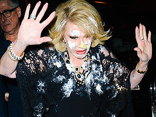 Joan Rivers Gets Cake-Bombed at L.A. Bash – Who Was the Culprit?