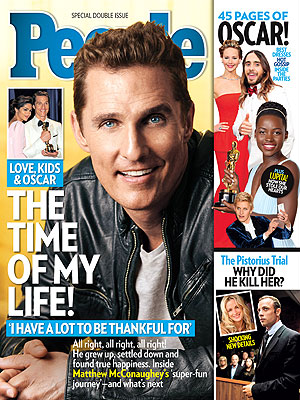 Matthew McConaughey: His Oscar Journey in PEOPLE Magazine