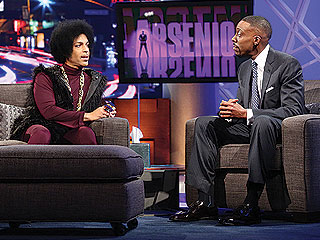 Prince Takes Over the Arsenio Hall Sh