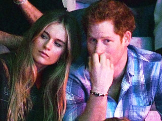 Prince Harry's Girlfriend Attends Her First Official Function with Him | Prince Harry