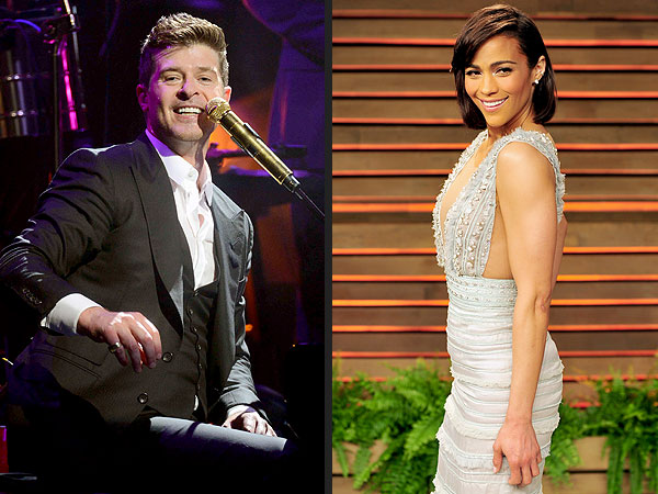 Robin Thicke Sends Musical Message to Paula Patton: 'Let's Stay Together'