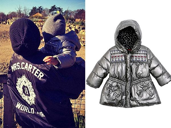 Beyonce Blue Ivy Dublin Zoo Catimini Coat