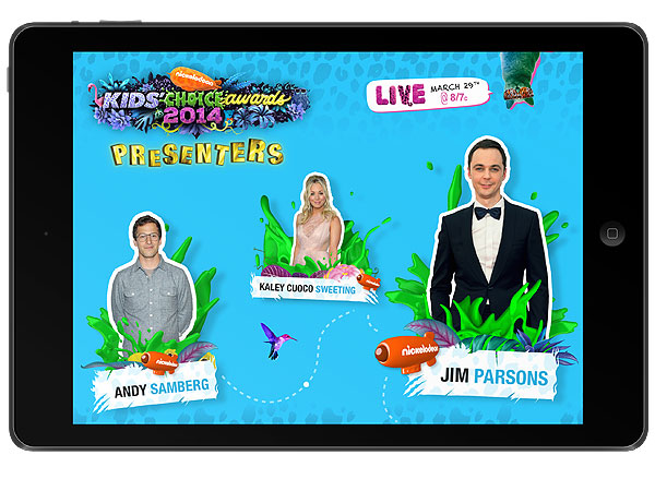 Lea Michele, Kaley Cuoco, Jim Parsons to Present at Kids' Choice Awards| Kids' Choice Awards, Jim Parsons, Kaley Cuoco-Sweeting, Lea Michele, Mark Wahlberg, Sandra Bullock