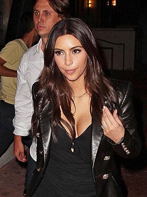 Kim Kardashian Enjoys Late-Night Dinner Date in Miami