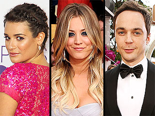Lea Michele, Kaley Cuoco, Jim Parsons to Present at Kids' Choice Awards | Jim Parsons, Kaley Cuoco, Lea Michele